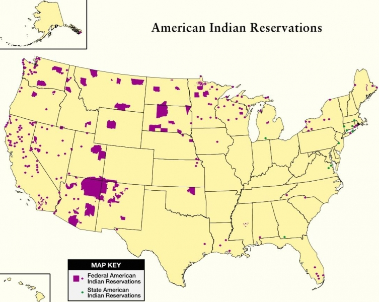 the problems faced by native americans placed on reservations Several native american tribes were put on reservations together in locations that are not traveled by most americans the us government attempted to keep these citizens in places that.